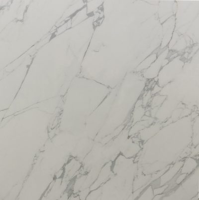 White Marble Tile Busy Veining